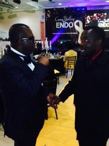 {Odimegwu Onwumere with Dr Abayomi Ajayi}